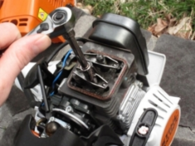 Stihl 4-mix valve adjustment procedure - Lawn Mower Forums