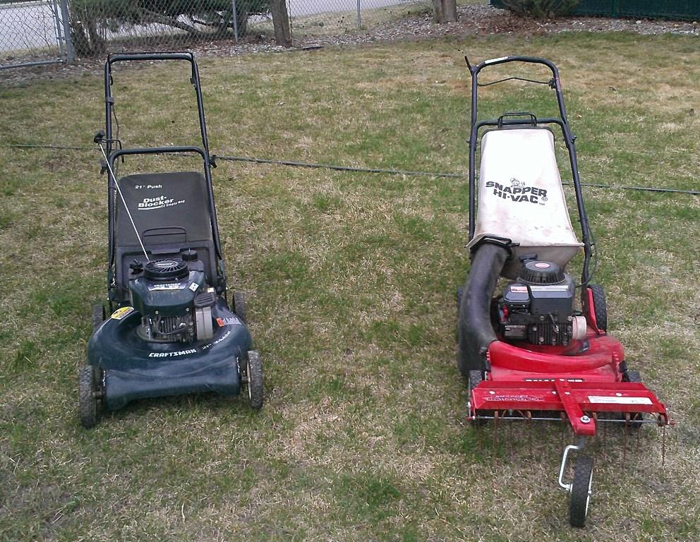 Craftsman Yard Vacuum 4 5 : Pics of the herd lawn mower forums lawnmower reviews